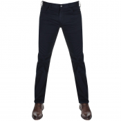 Emporio Armani J45 Regular Slim Fit Jeans Navy